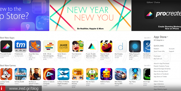 ired apple app store record 2015-01