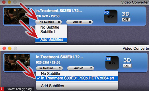 how to add subtitles to ipad