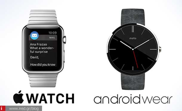 ired tech apple watch vs android wear 01