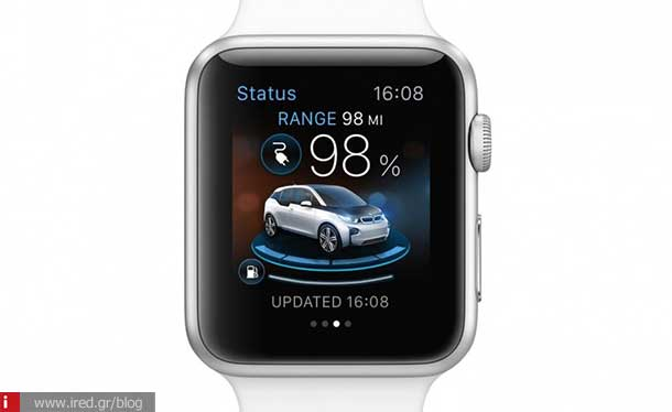 ired tech news bmw apple watch app 00