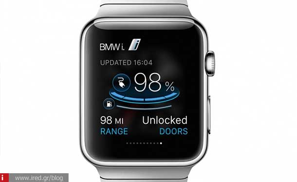 ired tech news bmw apple watch app 01
