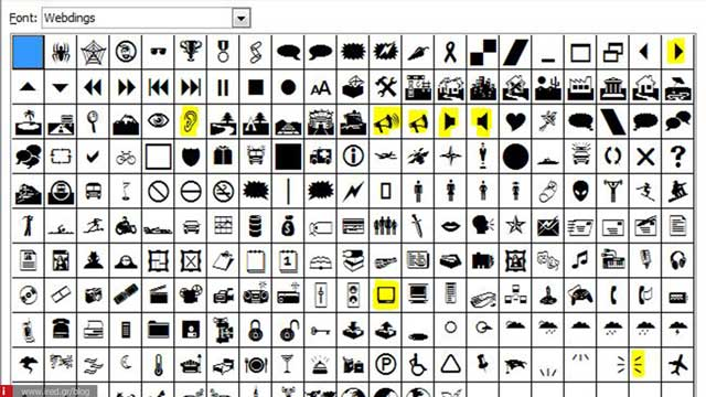about webdings 01