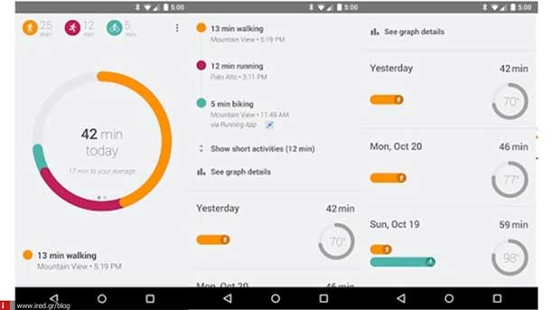 step tracking android