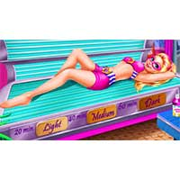 Super Barbie Tanning