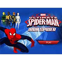 Play Spider Man : Iron Spider game now!