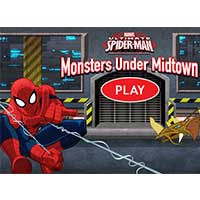 Play Spider Man : Spiderman Monsters Under Midtown game now!