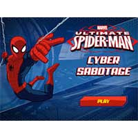 Play Spider Man : Cyber Sabotage game now!