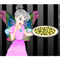TINKERBELL: BLACK AND WHITE PIZZA