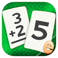 Addition Flashcard Math Match Games