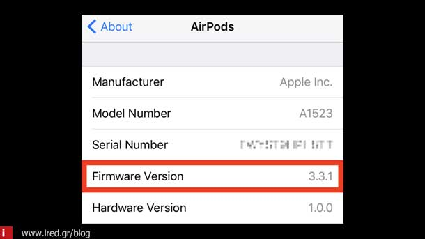 airpods firmware 01