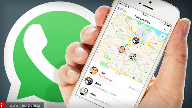 3 whatsapp live location