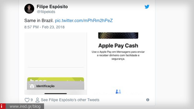 Apple pay cash twitter
