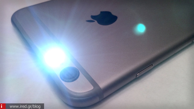 LED Flash κάμερα iPhone