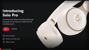 H Apple ανακοίνωσε τα νέα ασύρματα Beats Solo Pro στην τιμή των 300$