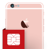 iPhone 6s plus SIM card reader repair