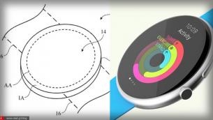Νέα πατέντα της Apple δείχνει ένα Apple Watch με στρογγυλή οθόνη