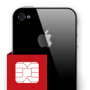 Επισκευή sim card reader iPhone 4