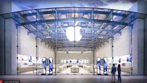 Νέο Apple Store με κυλινδρική είσοδο ανεγείρεται στην Κίνα