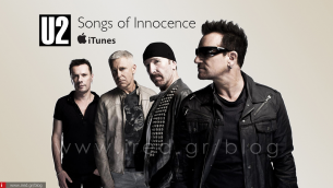 "U2 - 26 εκατ. χρήστες iPhone και iPad κατέβασαν το δωρεάν άλμπουμ ""Songs Of Innocence"""