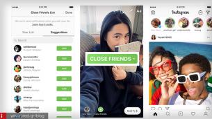 Instagram: Τώρα μπορείτε να προβάλλετε τα Stories σε μερικούς μόνο φίλους σας