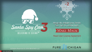 Santa Spy Cam: Η καλύτερη Χριστουγεννιάτικη εφαρμογή για το iPhone και το iPad