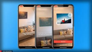 Δείτε πως θα έμοιαζε ένα κάδρο στον τοίχο σας μέσω του iPhone σας!