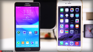 iPhone 6 Plus vs Samsung Galaxy Note 4 - Τιτανομαχία