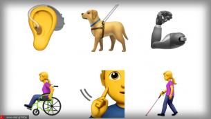 Η Apple προτείνει νέα emojis για άτομα με αναπηρία
