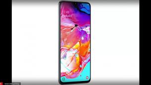 6,7 ιντσών οθόνη στο νέο Samsung A70!