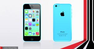 Χαρακτηριστικά iPhone 5C