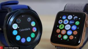 Κορυφαία επιλογή - μακράν του δεύτερου - το Apple Watch!