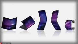 Στα σκαριά αναδιπλούμενο κινητό το οποίο μετατρέπεται και σε smartwatch!