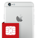 Επισκευή SIM card reader iPhone 6 Plus