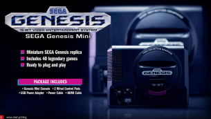 Sega Genesis: Η νέα Vintage παιχνιδομηχανή της Sega!