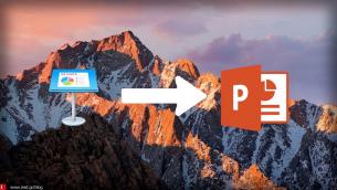 Οδηγός: Πώς μετατρέπουμε μία παρουσίαση Keynote σε PowerPoint στο iPhone - iPad ;
