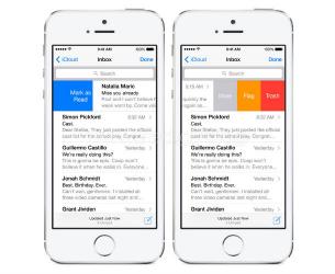 iOS 8 - Mail - Πιο εύχρηστο με νέες λειτουργίες!