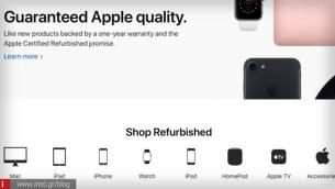Apple: Ανανεώθηκε το επίσημο online κατάστημα refurbished προϊόντων
