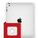 Επισκευή sim card reader iPad 4