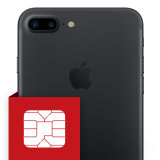 Επισκευή SIM card reader iPhone 7  Plus