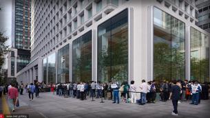 Άρχισαν οι ουρές έξω από τα καταστήματα της Apple για τα νέα iPhone 11