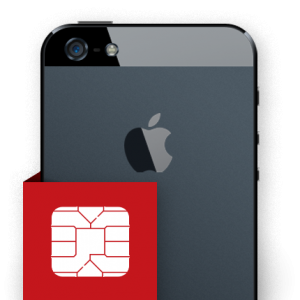 Επισκευή sim card reader iPhone 5