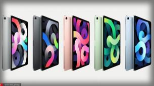 iPad Air 4ης Γενιάς | Με οθόνη edge-to-edge, touch-id στο power button και τον Α14 bionic