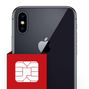 Επισκευή SIM card reader iPhone X
