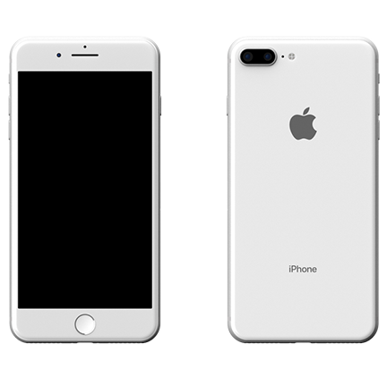iPhone 8-PLUS 64GB Ασημί