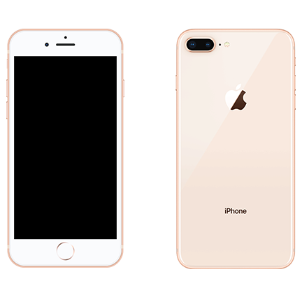 iPhone 8-PLUS 64GB Χρυσό
