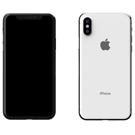 iPhone X 64GB Ασημί