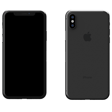 iPhone X 256GB Γκρι