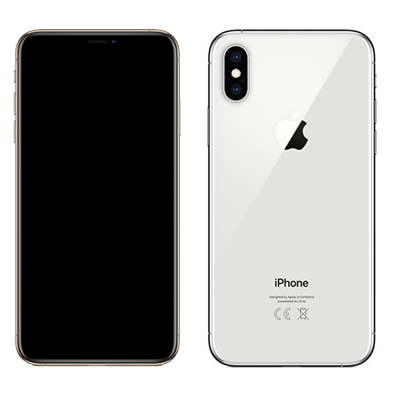 iPhone XS 64GB Ασημί