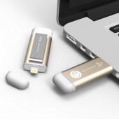 Adam Elements iKlips 64GB Χρυσό