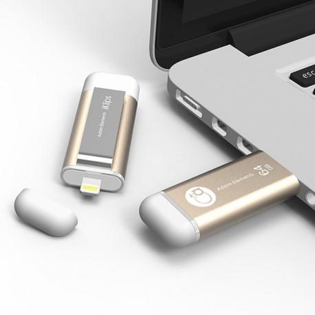 Adam Elements iKlips 64GB Χρυσό